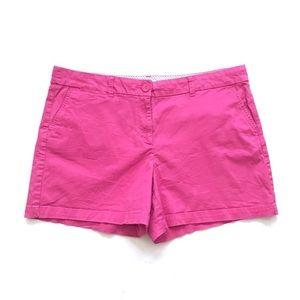 Crown & Ivy Pink Chino Shorts